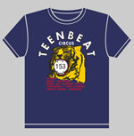 Teen-Beat Circus Tour t-shirt front