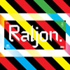 Raljon typeface font by Mark Robinson of Teen-Beat Graphica